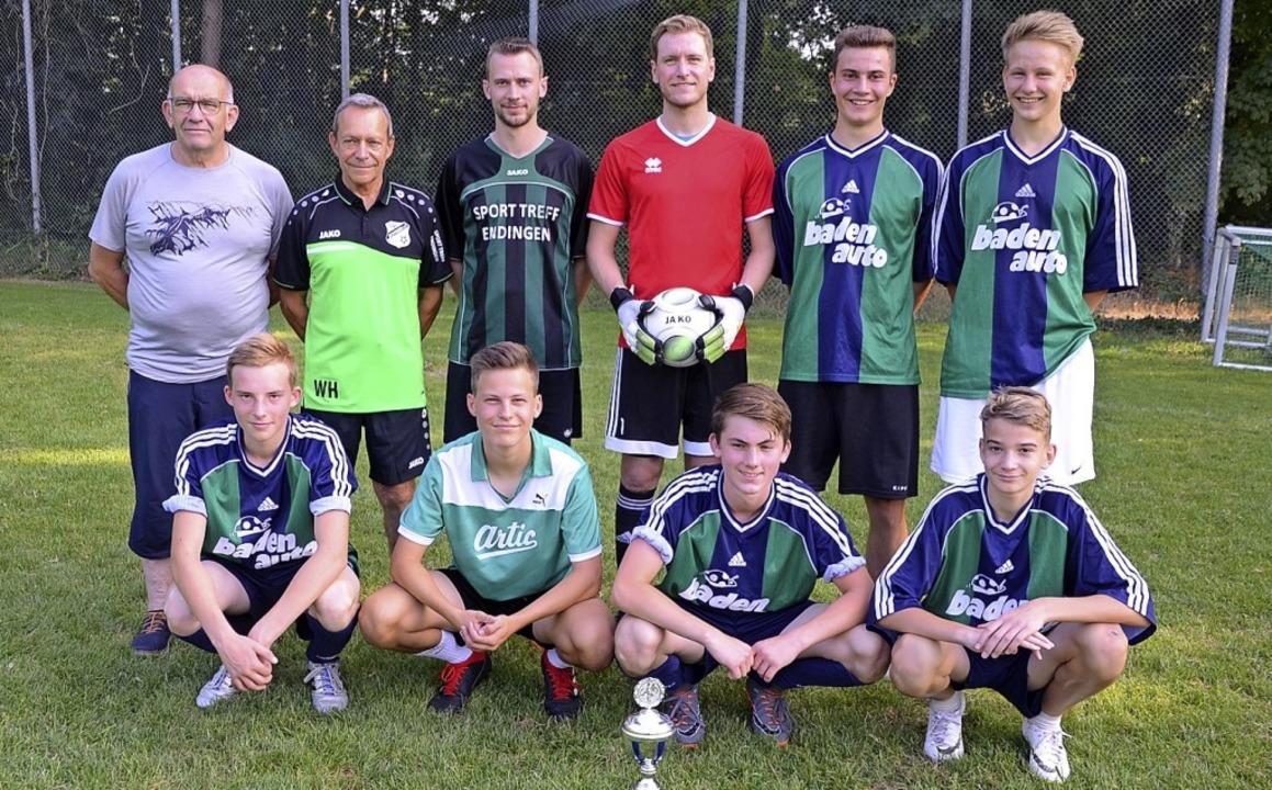 Sieger beim Vereinswanderpokal 2019  i...SV Jechtingen wurde die Winzerkapelle.  | Foto: Roland Vitt