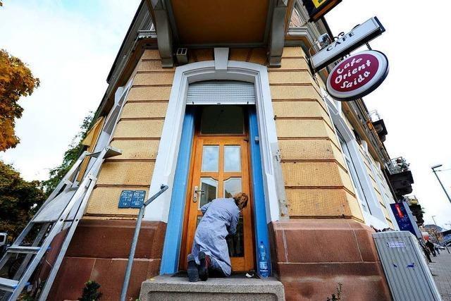 Das Café Satz eröffnet an der Ecke Guntram- und Wannerstraße