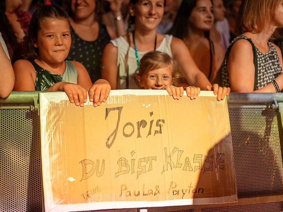 Joris-Fans beim ZMF  | Foto: Simon Langemann