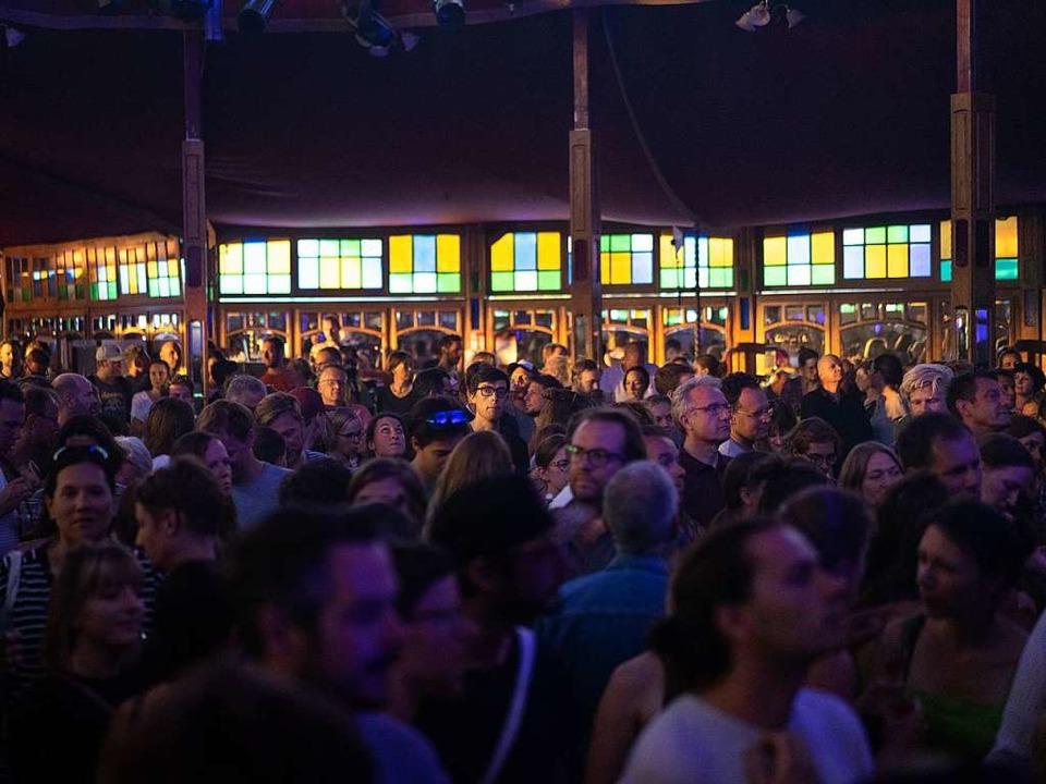 Das Publikum musste bei diesem Konzert nicht schwitzen.    Foto: Simon Langemann