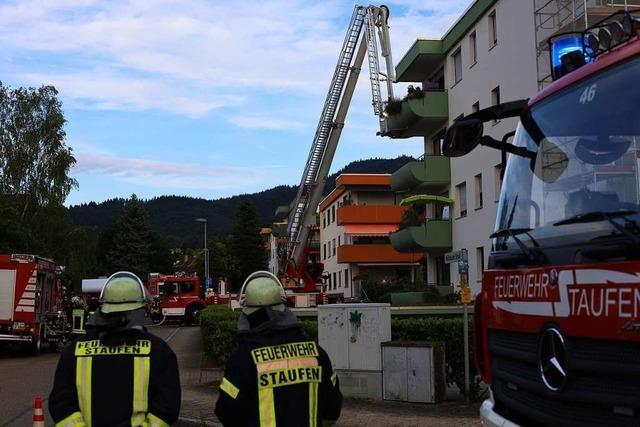 Feuerwehr rettet zwei Frauen