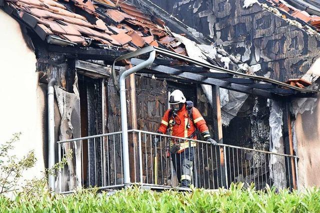 Hat eine Kerze den Brand im Reihenhaus in Haltingen ausgelöst?