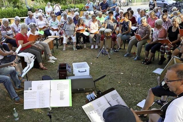 Offenes Singen in Ichenheim