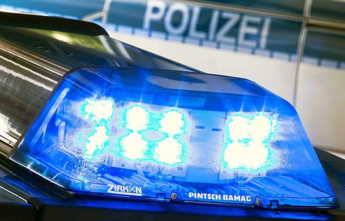 Die Polizei sucht nach den Tätern.  | Foto: Friso Gentsch