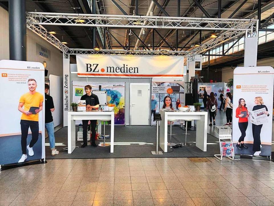 Unser neuer BZ.medien Stand.  | Foto: Selina J.