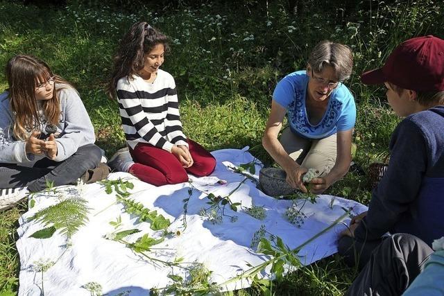 Eine Erlebnisschule in Zelten und in der Natur