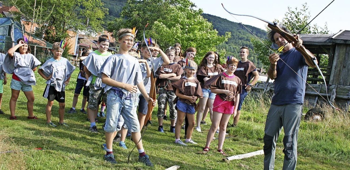 <BZ-FotoAnlauf>Kiwanis-Club:</BZ-FotoA...er-Camps der Kiwanier in Enkenstein.    | Foto: Ralph Lacher