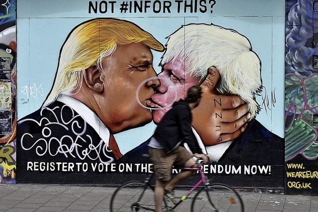 Johnson sucht sicherheitspolitisch die Nähe zu Trump