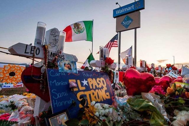 Trump besucht jüngste Massaker-Tatorte El Paso und Dayton