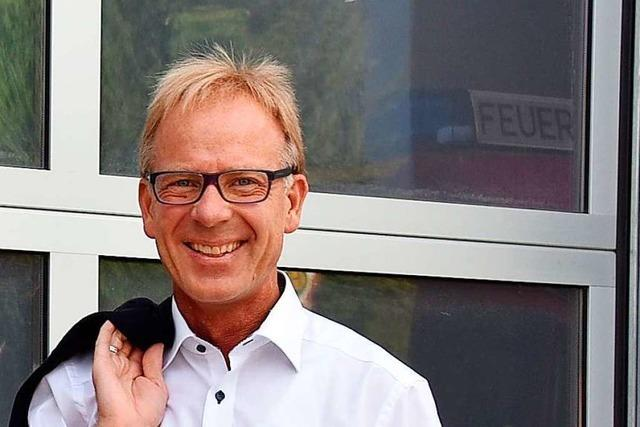 Jörg Kindel will Bürgermeister von Au bleiben