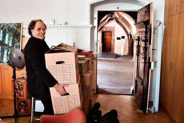 Im Freiburger Rathaus gibt's in der zweiten Reihe Stühlerücken