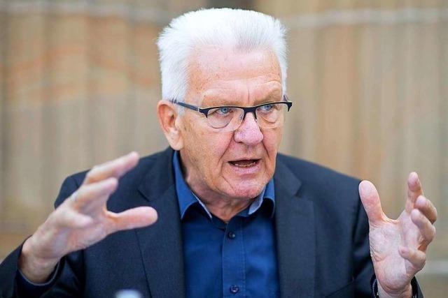 Kretschmann ist gegen ein Verbot innerdeutscher Flüge