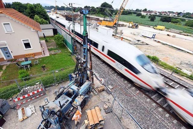 Bahn will Tunnel der Rheintalbahn in Rastatt Ende 2025 fertig haben