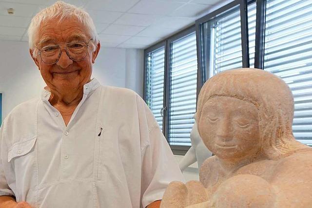 Der Rheinfelder Künstler Leonhard Eder verabschiedet sich mit einer Ausstellung