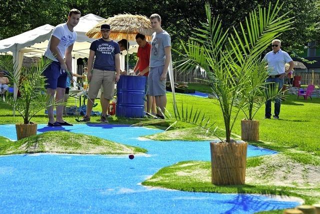 Beachparty zum 5. Geburtstag des Fun-Strands