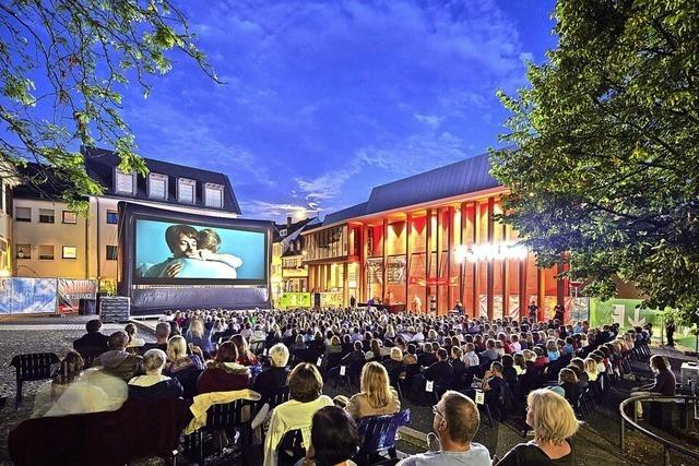 Open-Air-Kino auf dem Urteilsplatz