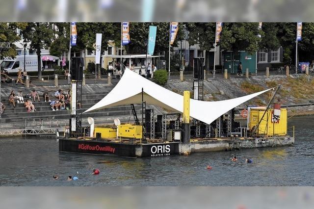 Gratis-Konzerte auf dem Basler Floß