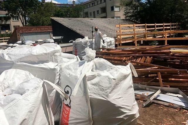 Asbestmessung in Freiburger Kita bestätigt, dass von Baustelle keine Gefahr ausgeht