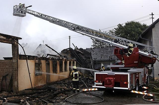 Außergewöhnlich belastender Einsatz für die Freiwillige Feuerwehr