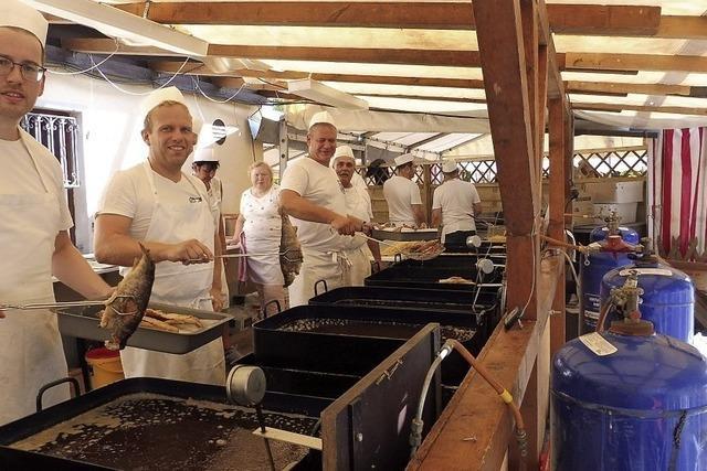 Backfischfest in Ichenheim