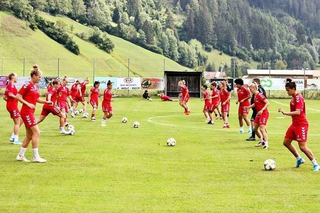 SC-Frauen legen in Tirol die Grundsteine für die Bundesliga-Saison