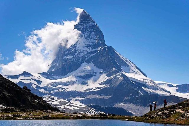 Am Gipfel des Matterhorns ist es zu warm