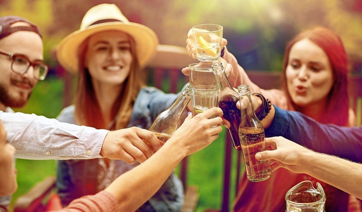 Alkohol- und/oder fleischfrei feiern  erfreut sich immer größerer Beliebtheit.    Foto: lev dolgachov
