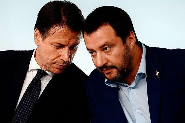 Regierungskrise in Italien: Salvini fordert Neuwahlen