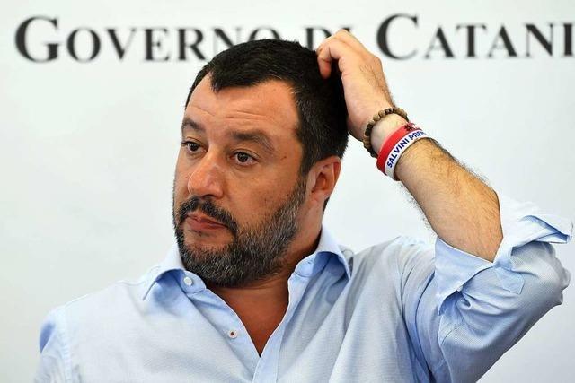 Salvini stürzt Italien in die Krise - Scharfe Kritik vom Premier