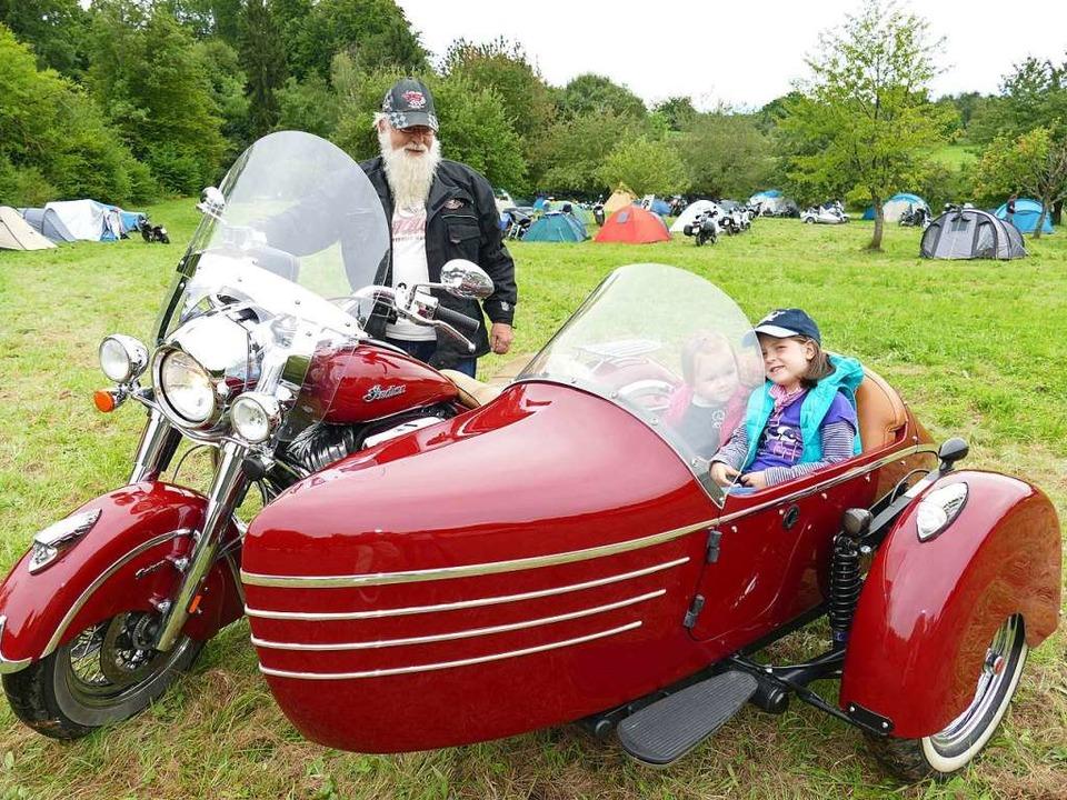 Schöne Maschinen gibt es beim Motorradtreffen immer zu entdecken.  | Foto: Frank Leonhardt