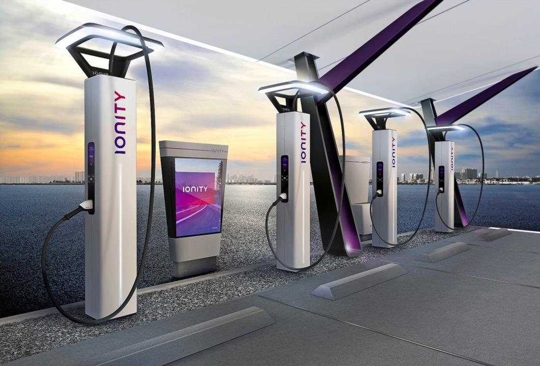 Ein neuer Typ von Tankstelle, wenn es schnell gehen soll  | Foto: Ionity