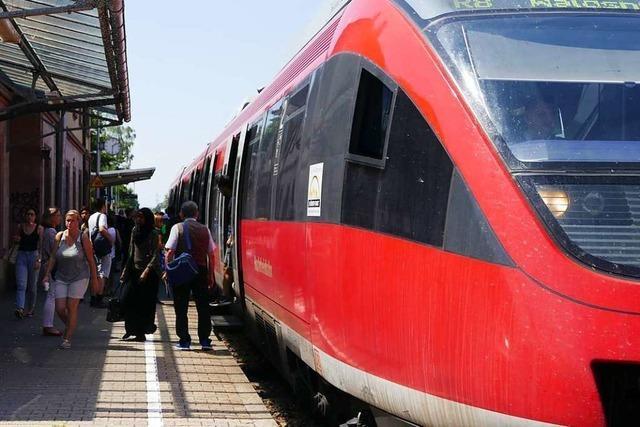 Verspätungen und Zugausfälle nach Hangrutsch bei Rheinfelden
