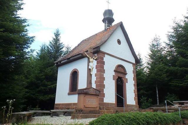 Die Helgestöckle-Kapelle ist saniert