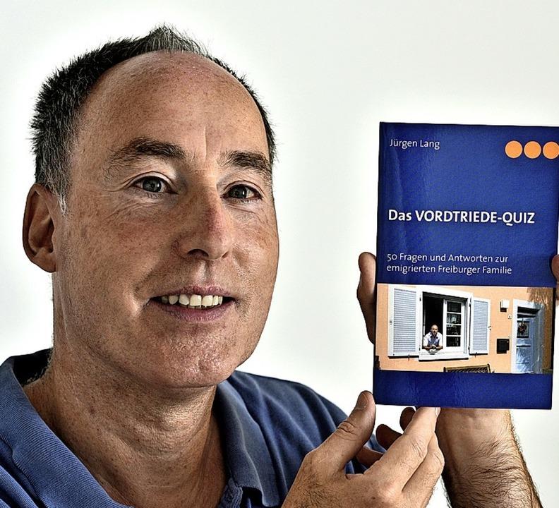 Jürgen Lang und sein Quiz    Foto: Thomas Kunz