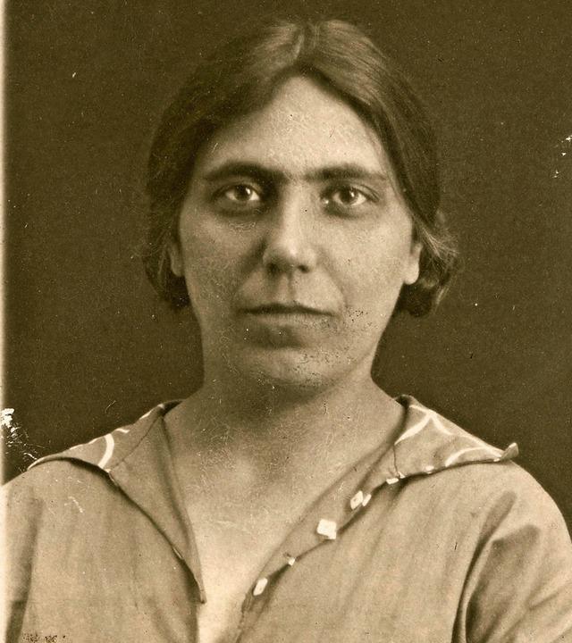 Käthe Vordtriede  im Jahr 1927    Foto: Deutsches Literaturarchiv Marbach