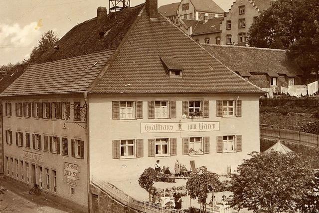 Wie aus einem Salzlager das Gasthaus Bären in Neustadt wurde