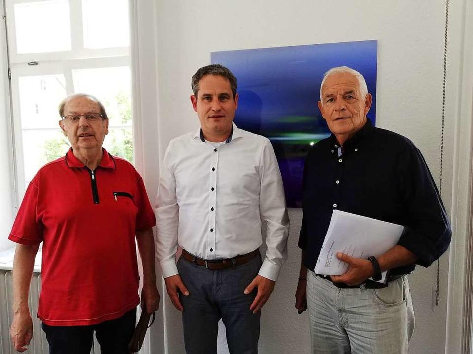 Artur Cremans, Dirk Harscher und Raine...haus das Thema Ärztemangel diskutiert.  | Foto: Privat