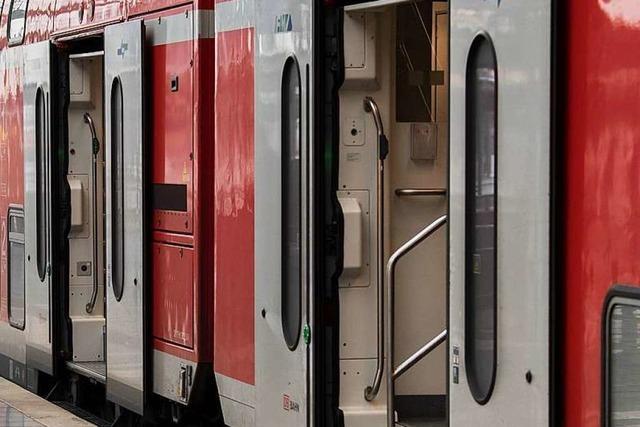 Drei Männer sollen eine Frau im Zug nach Waldshut sexuell belästigt haben