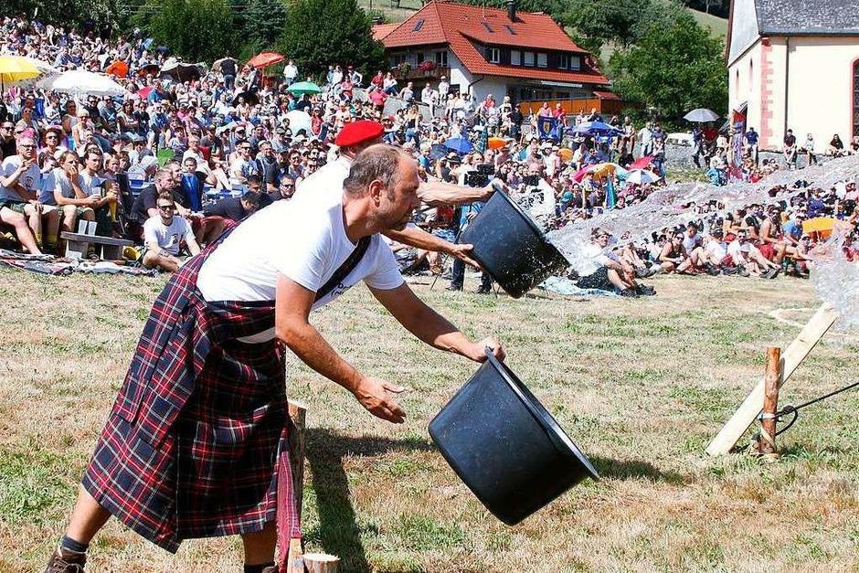 Ein Spaß für jedes Alter – die Highland-Games in Prinzbach (Foto: Heidi Fößel)