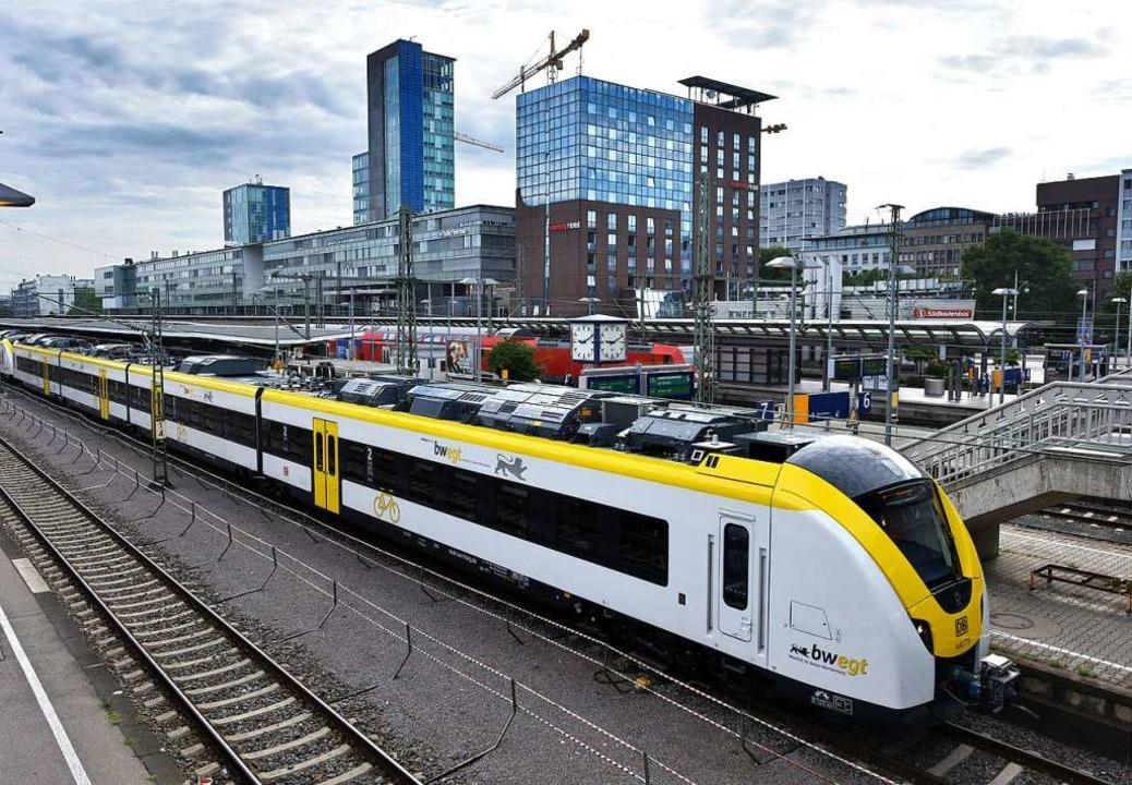 Die neuen Züge kommen vom französischen  Hersteller Alstom.  | Foto: Michael Bamberger