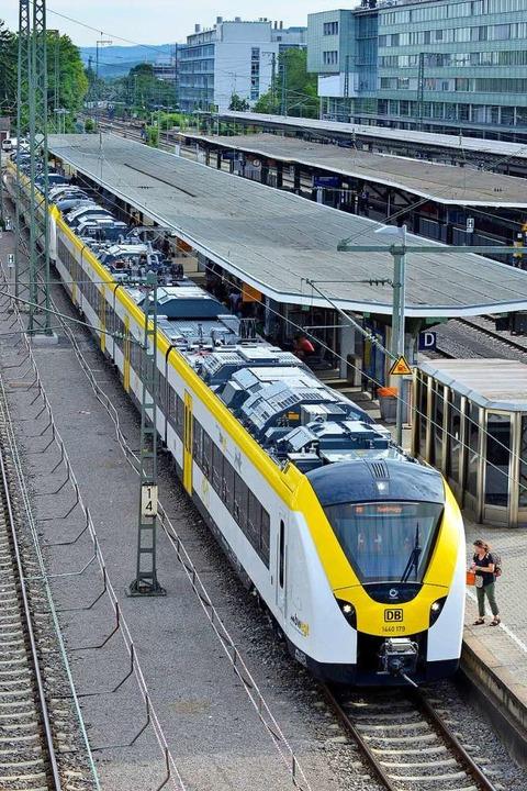 Der Zugtyp soll auch auf der Strecke n...d der nach Endingen eingesetzt werden.  | Foto: Michael Bamberger