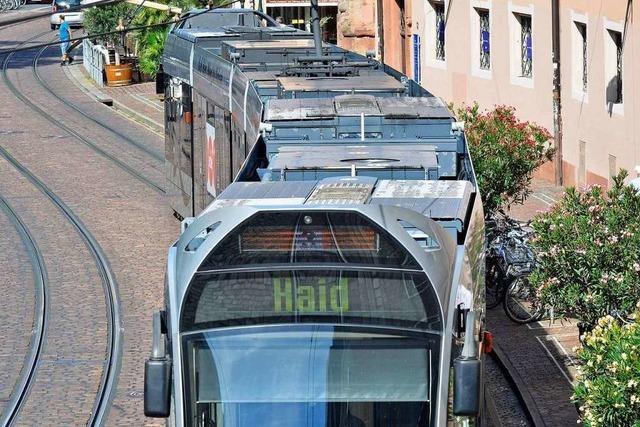 Nur 22 Freiburger Straßenbahnen sind klimatisiert