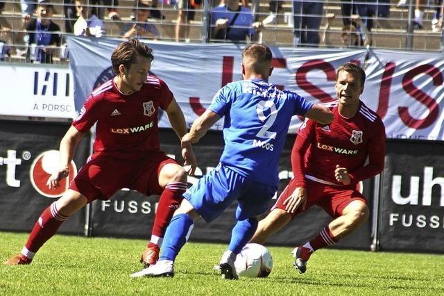 Freiburger FC trotz den Stuttgarter Kickers ein Remis ab