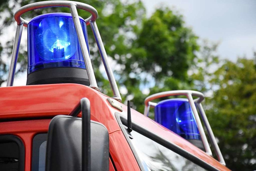 Drei Fahrzeuge der Feuerwehr rückten aus (Symbolbild).  | Foto: Jonas Hirt