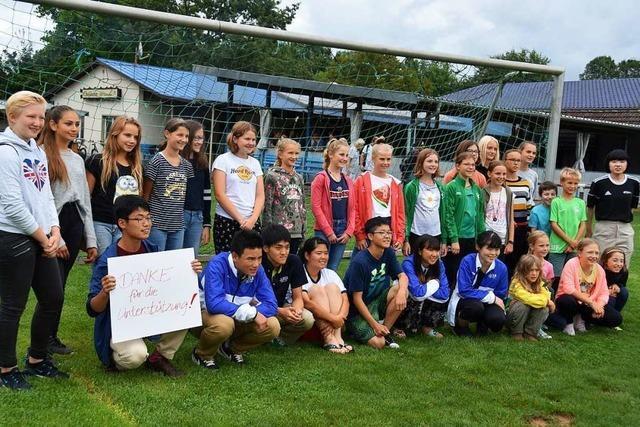 Beim deutsch-japanischen Sportaustausch trafen zwei Kulturen aufeinander