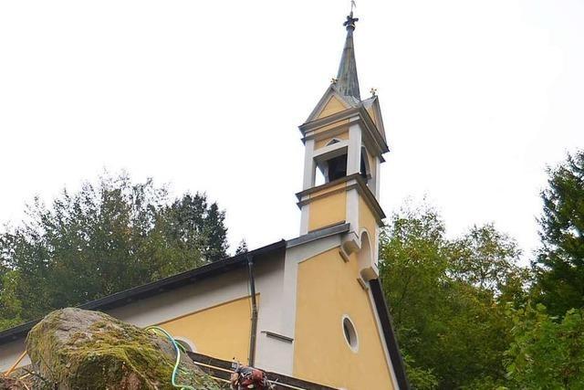 Kupferdiebstahl an der Kalvarienbergkapelle in Zell