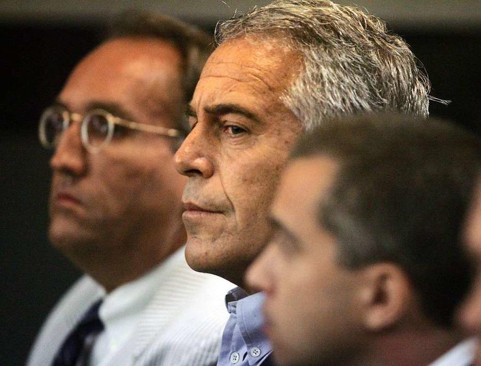 USA, West Palm Beach: US-Unternehmer J...mmt an einer Gerichtsverhandlung teil.  | Foto: Uma Sanghvi (dpa)