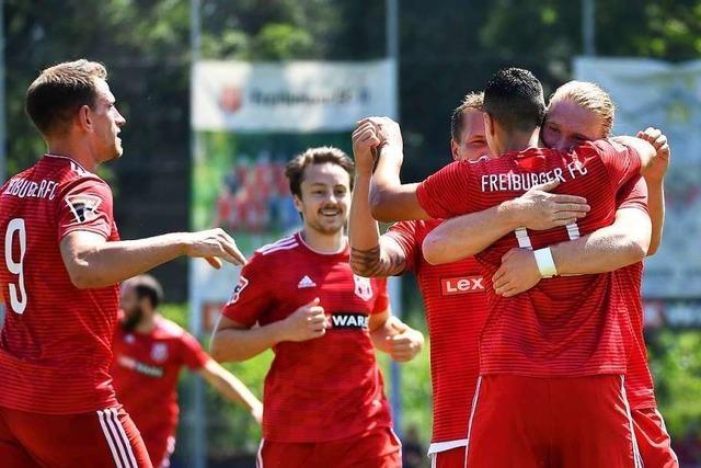 Freiburger FC zumindest kurzzeitig auf Augenhöhe mit den Kickers