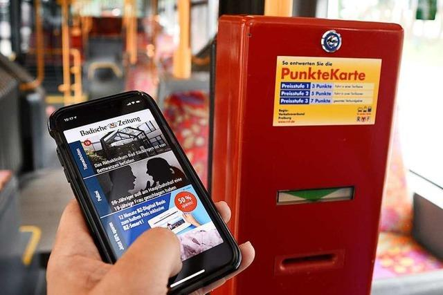 Ab jetzt gibt es WLAN in allen Bussen der Freiburger VAG