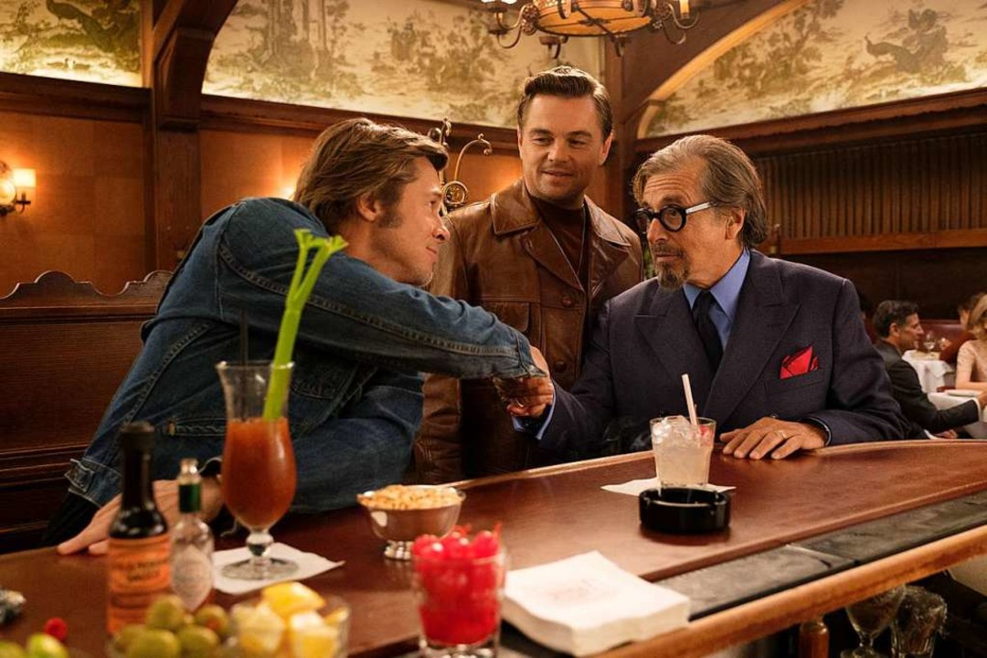 Brad Pitt, Leonardo DiCaprion und Al P... Time<ppp> </ppp> in Hollywood&#8220;.  | Foto: Sony Pictures Entertainment Deutschland GmbH